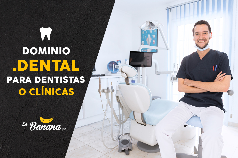 Dominio .dental para dentistas o clínicas dentales