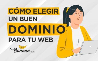 Cómo elegir un buen dominio para tu web