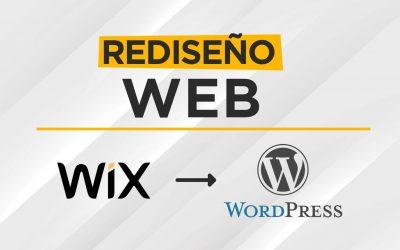 Rediseño Web – Pasando de Wix a WordPress personalizado para IDR Rental